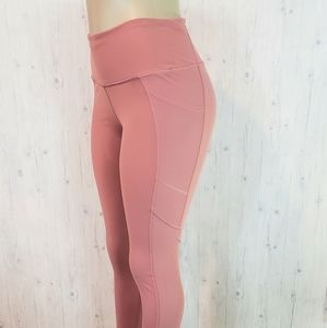 Victoria Sport Dusty Pink Leggings Medium HR